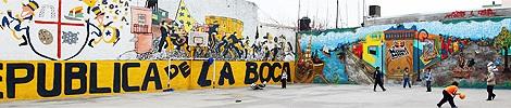 Barri de Boca de Buenos Aires (Argentina)