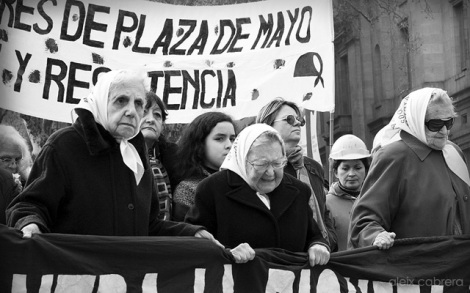 Madres de Plaza de Mayo a Buenos Aires (Argentina)