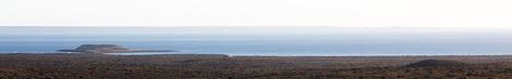 Isla de los pájaros des de la Península Valdés (Argentina)