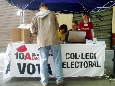 Punt de vot de Barcelona Decideix