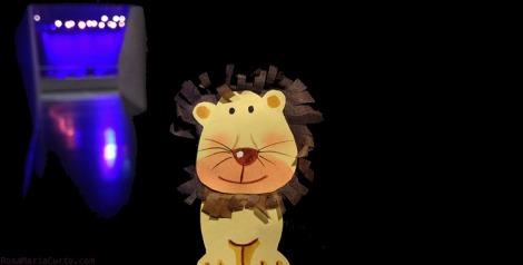 Lion at Palau Sant Jordi
