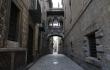 Carrer del Bisbe, Barcelona, durant la pandèmia de COVID-19
